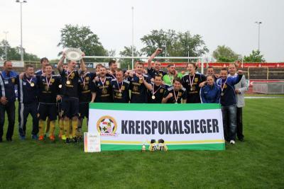 Foto zur Meldung: Kreispokalendspiele des KFV Fußball Saalekreis am 01.Mai 2014