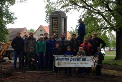 Foto zur Meldung: Jugend packt an in Lindena