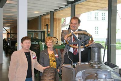 Foto zur Meldung: Landwirtschaftsminister besucht Barnim Panorama
