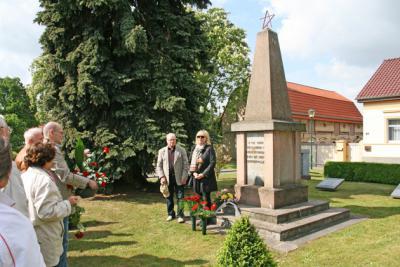 Foto zur Meldung: Gedenken an 8. Mai 1945 in Wandlitz