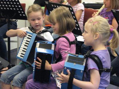 Foto zur Meldung: Musik im Vorschulalter