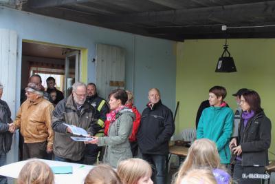 Foto zur Meldung: Reges Leben im Schulwald von Wolmirsleben
