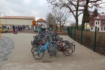 Foto zur Meldung: Fahrradüberdachung