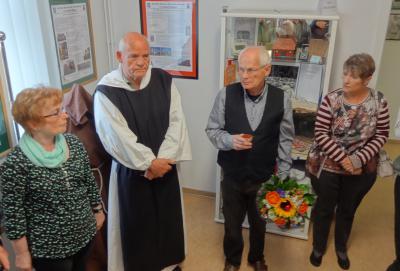 Foto zur Meldung: Zisterzienser-Ausstellung in der Heimatstube eröffnet