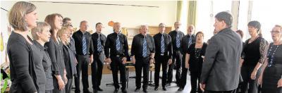 Foto zur Meldung: Der Chor wächst als Mannschaft zusammen