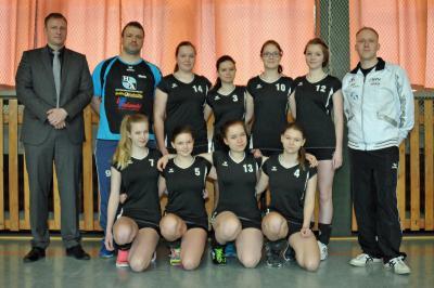 Foto zu Meldung: Finale der U16w-Landesmeisterschaft