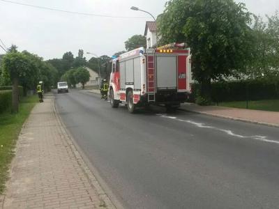 Foto zu Meldung: Ölspur in Zinndorf