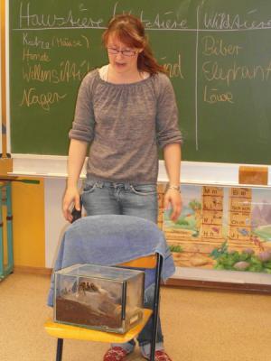 Foto zur Meldung: Tiere in der Schule?
