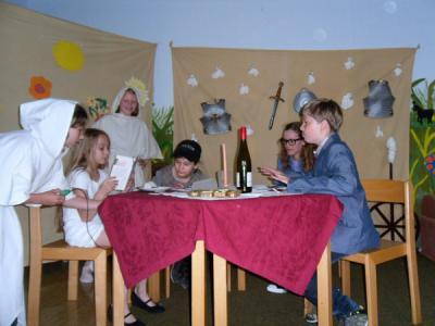 Foto zur Meldung: Spuk in der Schule