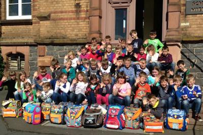 Foto zur Meldung: Alte Schulranzen gepackt