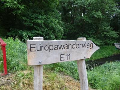 Bild der Meldung: Wanderung auf dem Europa-Wanderweg E11