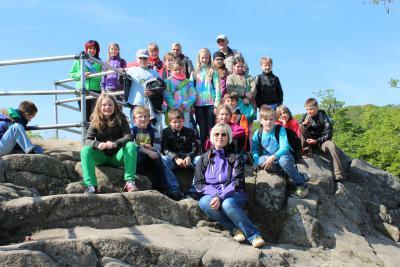 Foto zu Meldung: Klassenfahrt nach Thale/ Harz (Klasse 4a)
