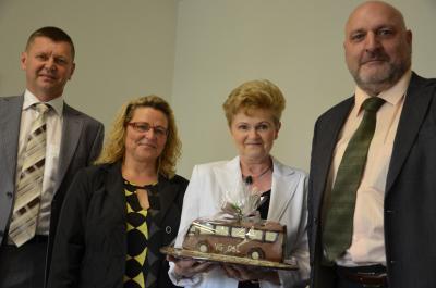 Foto zur Meldung: In den Ruhestand verabschiedet – Personalwechsel bei der VG OSL