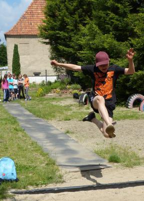 Foto zur Meldung: Sportfest der Evangelischen Schraden-Grundschule