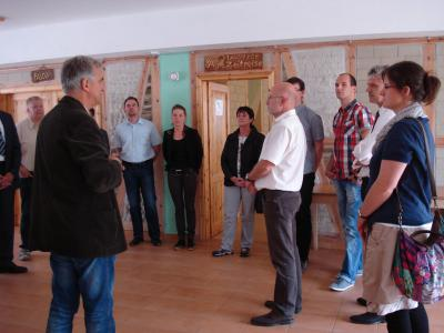 """Foto zur Meldung: Von Tradition bis Innovation: """"Arbeitskreis Wirtschaftsförderung"""" des Landkreises ging auf Zeitreise"""