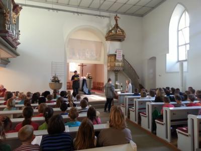 Foto zur Meldung: Schülergottesdienst am 4.Juni 2014