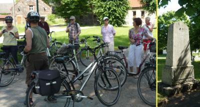 Foto zur Meldung: Heimatgeschichtliche Rehfelde-Radrundfahrt