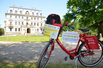 Foto zur Meldung: Per Drahtesel gemeinsam die Calauer Schweiz erkunden