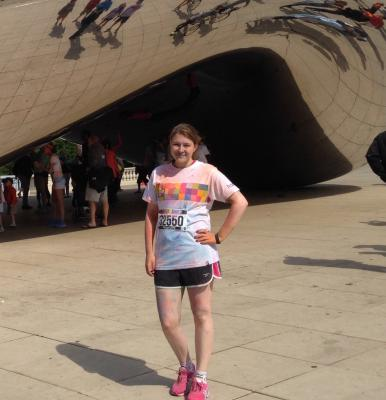 Foto zur Meldung: The Color Run in Chicago - The Happiest 5k on the Planet