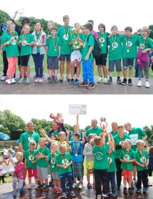 Foto zu Meldung: Stadtsportfest 2014: Doppelsieg für Germendorf