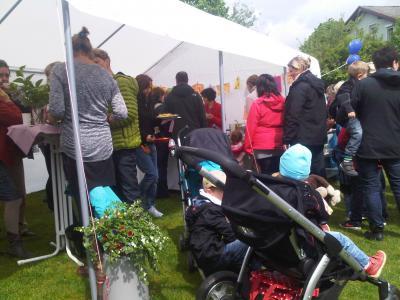 Foto zur Meldung: Dorf-Aktion: Verschenkemarkt in Reichenow