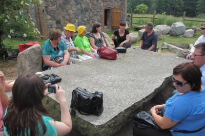 Foto zur Meldung: Dörferinitiative aus Polen zu Gast in der Region