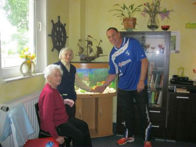 Foto zur Meldung: SC Laage bereitet Senioren große Freude