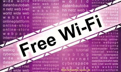 Foto zur Meldung: Freies Internet in Rehfelde