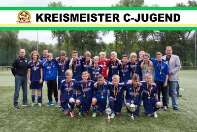 Foto zur Meldung: Kreismeister C-Jugend Saison 13/14