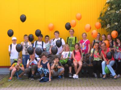 Foto zur Meldung: Kindertag Kl. 5a