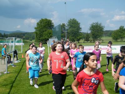 """Foto zur Meldung: """"Kinder laufen für Kinder"""""""