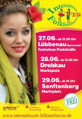 """Foto zur Meldung: Spree-Neiße und Oberspreewald-Lausitz freuen sich auf die """"14. Internationale Folklorelawine"""""""