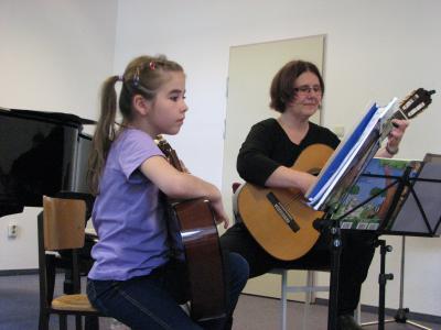 Foto zur Meldung: Jahresabschluss an der Musikschule