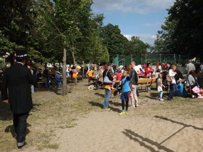 """Foto zu Meldung: Sommerfest """"Kinder der Welt"""" in der Grundschule Nennhausen"""