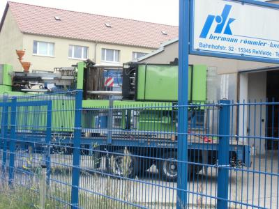Foto zur Meldung: Römmler – eine über 75-jährige Firmengeschichte in Rehfelde geht zu Ende