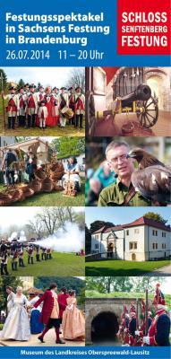 Soldaten erobern Sachsens Festung in Brandenburg beim großen Festungsfest in Senftenberg