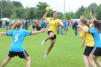 Foto zu Meldung: 16. JugendCup: Handballer-Nachwuchs in bester Form