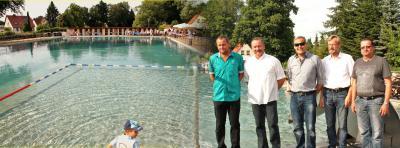 Foto zur Meldung: Großthiemiger Bad in neuem Gewand
