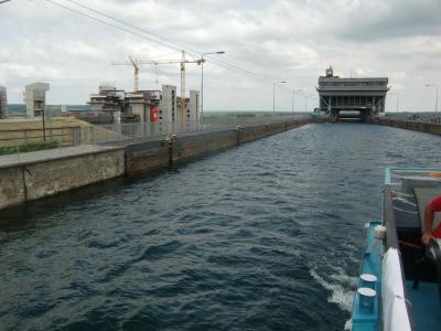 Foto zur Meldung: Sommerfahrt durchs Oderbruch zum Schiffshebewerk