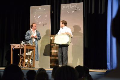 "Foto zur Meldung: Theater SPUNK ""The mysterious case of ..."""