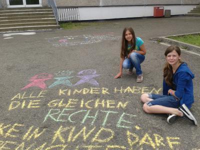 Foto zu Meldung: Kinder haben Rechte