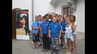 Foto zur Meldung: Besuch der Ersten Brandenburgischen Ausstellung in Doberlug- Kirchhain