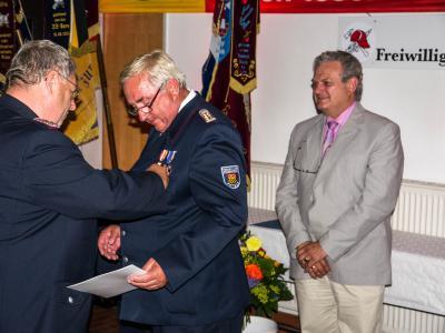 Verleihung des Deutschen Feuerwehr Ehrenkreuzes in Gold