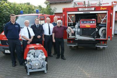 Foto zu Meldung: Neue Tragkraftspritzen für die Feuerwehren Wenings und Nieder-Seemen