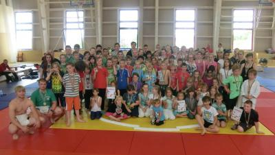 Foto zur Meldung: Kinder- und Jugendsportspiele im Sumo am 28.06.2014