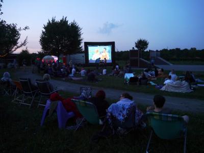 """Foto zur Meldung: Überraschungsfilm """"Fack ju Göthe"""" im Open-Air-Kino"""