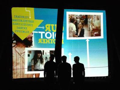 Foto zur Meldung: Generalprobe für Nauheimer Open-Air-Filmnächte