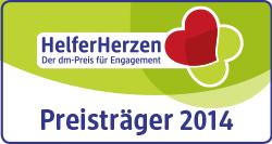 """Foto zur Meldung: HelferHerzen – Der dm-Preis für Engagement"""" geht nach Bad Dürrheim:  Angelika Strittmatter ist regionaler Preisträger 2014 der Initiative """"HelferHerzen"""
