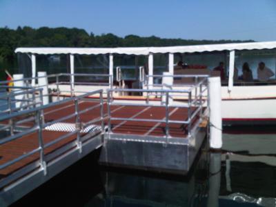 Foto zur Meldung: Projekte: Neues Schiff auf dem Straussee wird angenommen