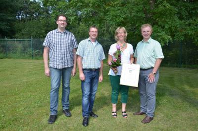 Foto zur Meldung: 25. Dienstjubiläum bei der Verbandsgemeindeverwaltung Rheinböllen